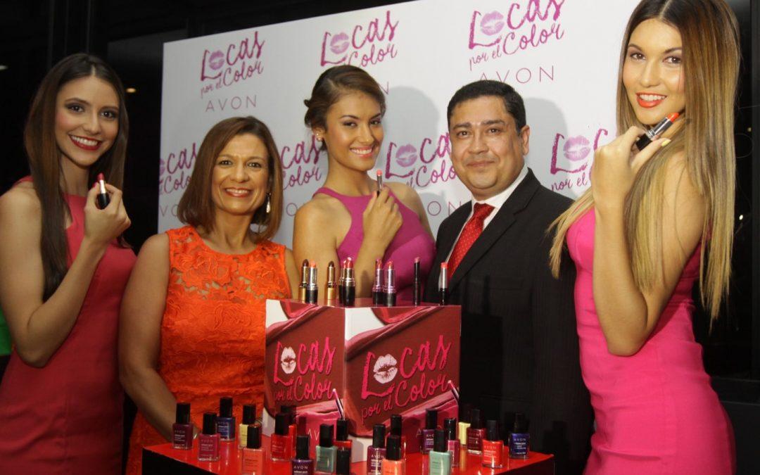 Avon lanza su campaña Locas por el Color en Guatemala