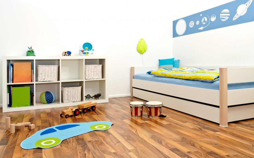 ¿Cómo estimular la creatividad e imaginación de los bebés decorando la habitación?