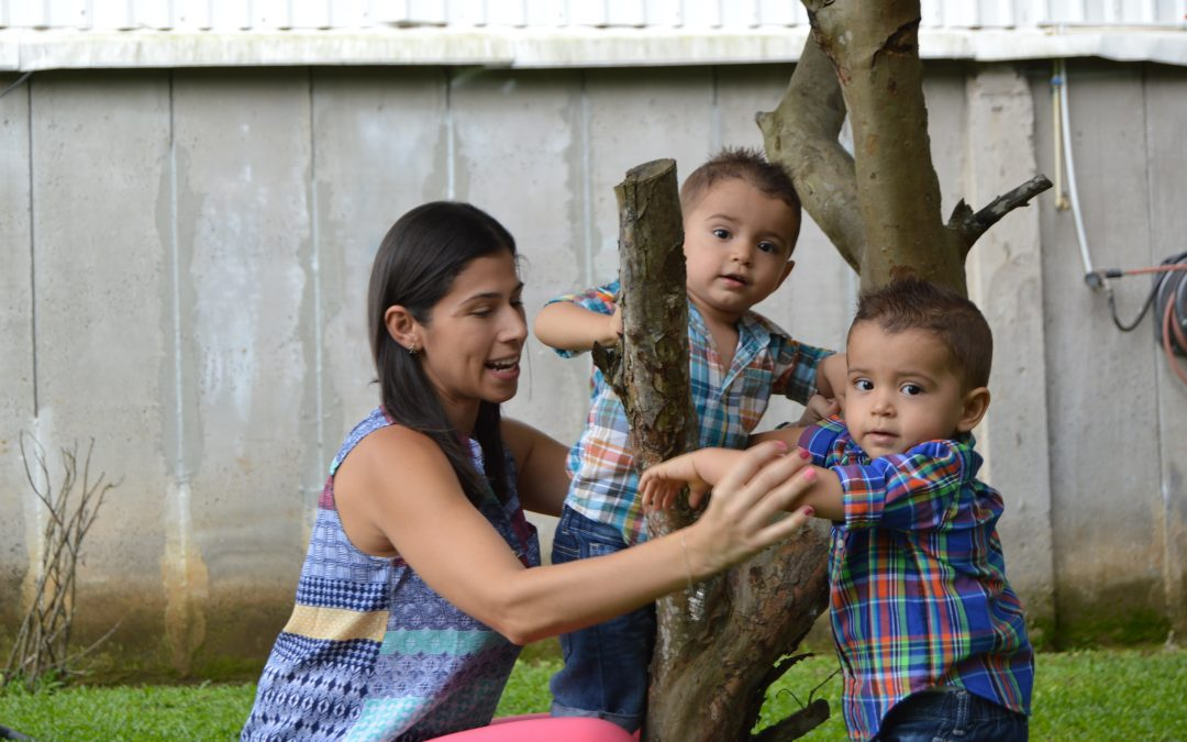 Karla Azofeifa: Una mamá dos por dos