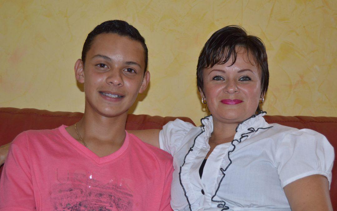 Yesenia Vásquez: Una mamá que lucha con el corazón