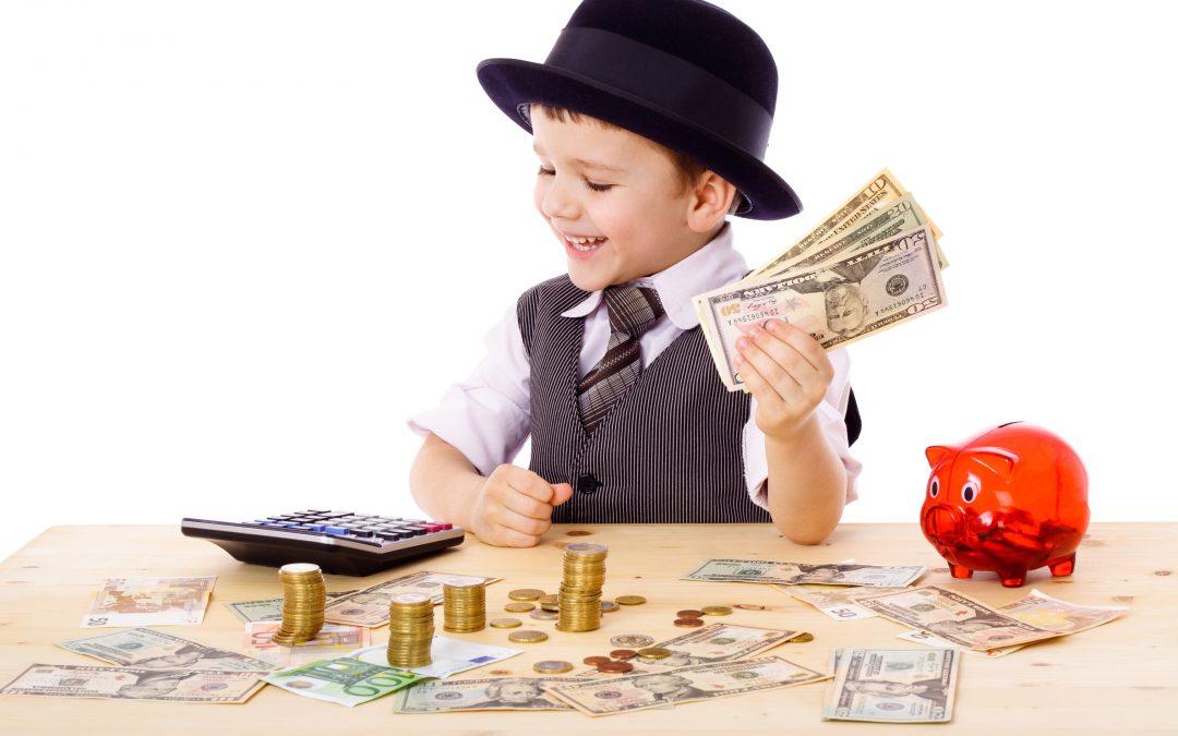 Celebre el Día de los Niños enseñándoles sobre finanzas