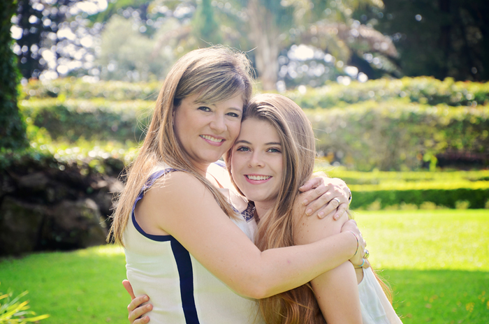 Diana Guerra: Una mamá orgullosa de la fortaleza de su hija