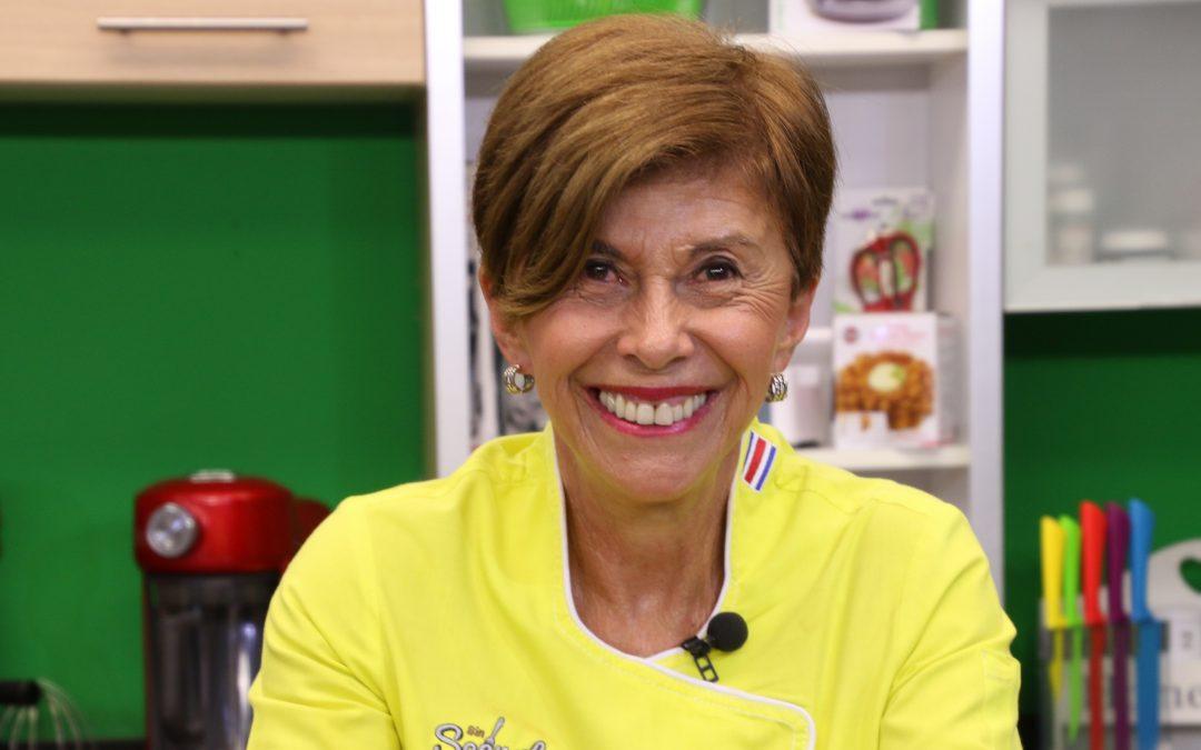 Doris Goldgewicht: Una mamá apasionada de su familia y la cocina regional