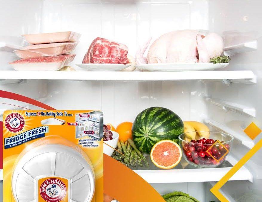 Mantenga la refrigeradora limpia y sin malos olores