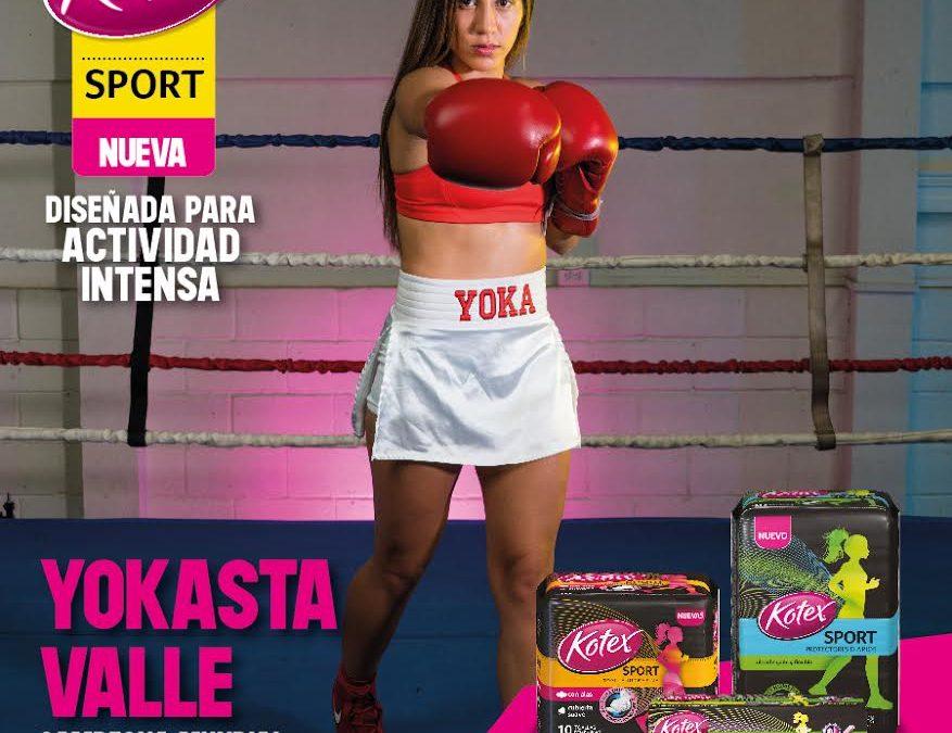 Kotex lanza nueva línea para mujeres amantes del deporte