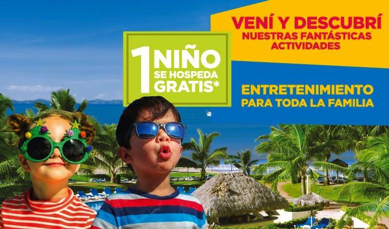 Doubletree Puntarenas ofrece paquete para celebrar el mes del niño