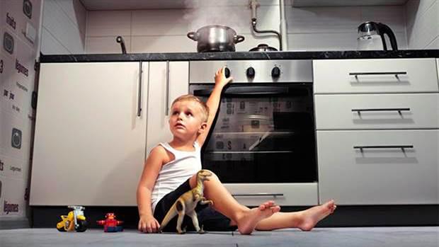 8 consejos para evitar accidentes domésticos con sus hijos