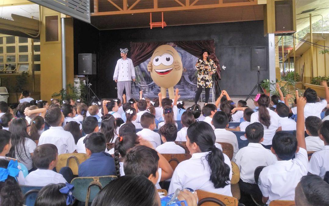 Niños costarricenses aprenderán sobre los beneficios de consumir huevo
