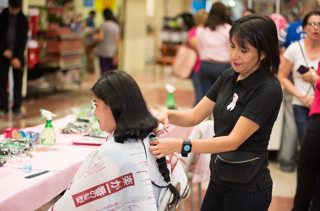 Inicia campaña de donación de cabello en el mes rosa
