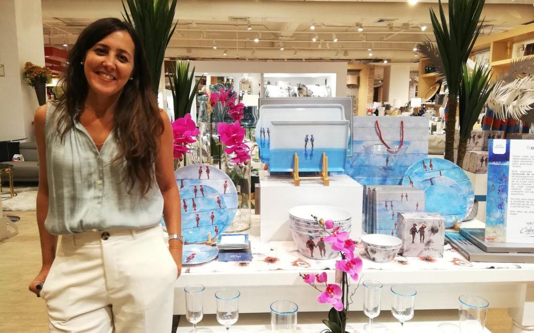 Valeria Fioroni hace homenaje a la mujer en una única colección en vajilla