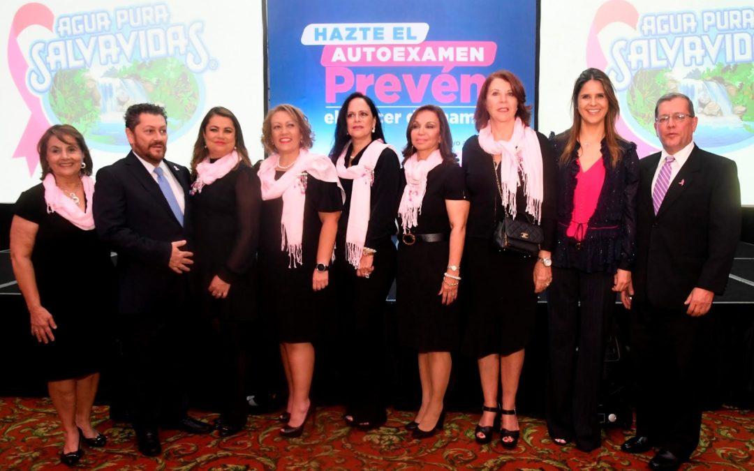 Agua Pura Salvavidas y Fundecán lanzan su campaña de prevención del cáncer de mama