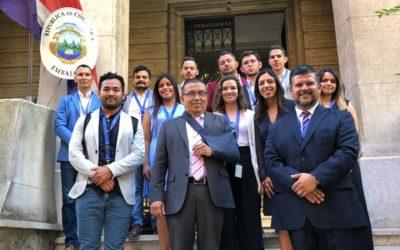 Estudiantes de Arquitectura de la U Hispanoamericana destacaron en la Universidad Sapienza de Italia