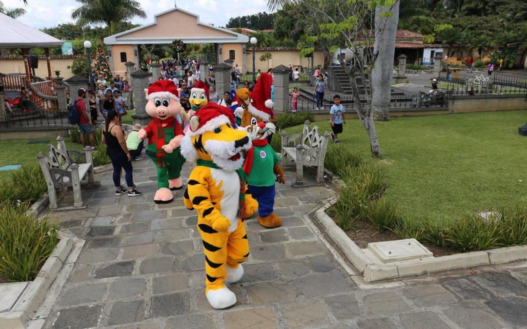 Parque Diversiones dará la bienvenida a la navidad este fin de semana