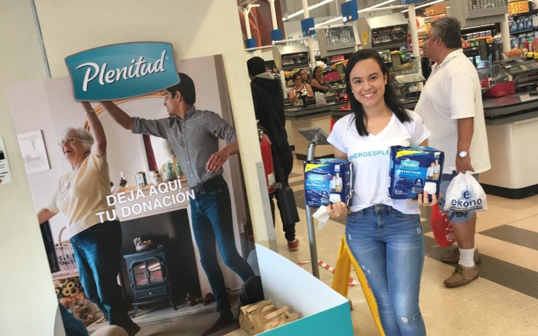 """Campaña """"Héroes Plenitud"""" donará 11.000 pañales al Hospital Blanco Cervantes"""