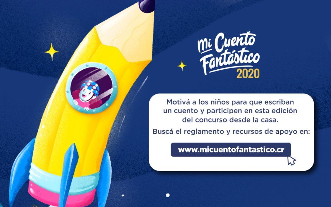 Mi Cuento Fantástico 2020 invita a estudiantes a escribir y participar desde su casa