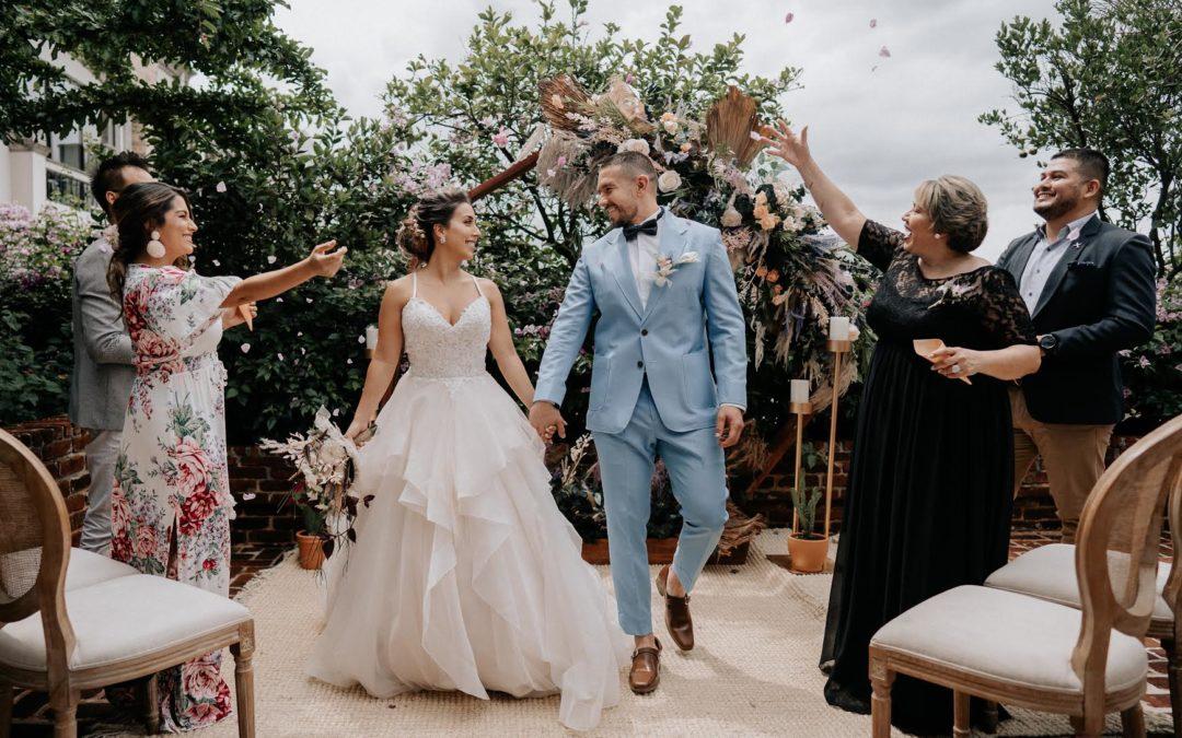 Micro Weddings: La nueva tendencia en bodas que surgió de la pandemia