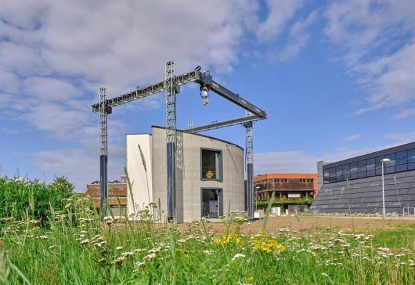 Bélgica imprime en 3D la primera casa de dos alturas de Europa
