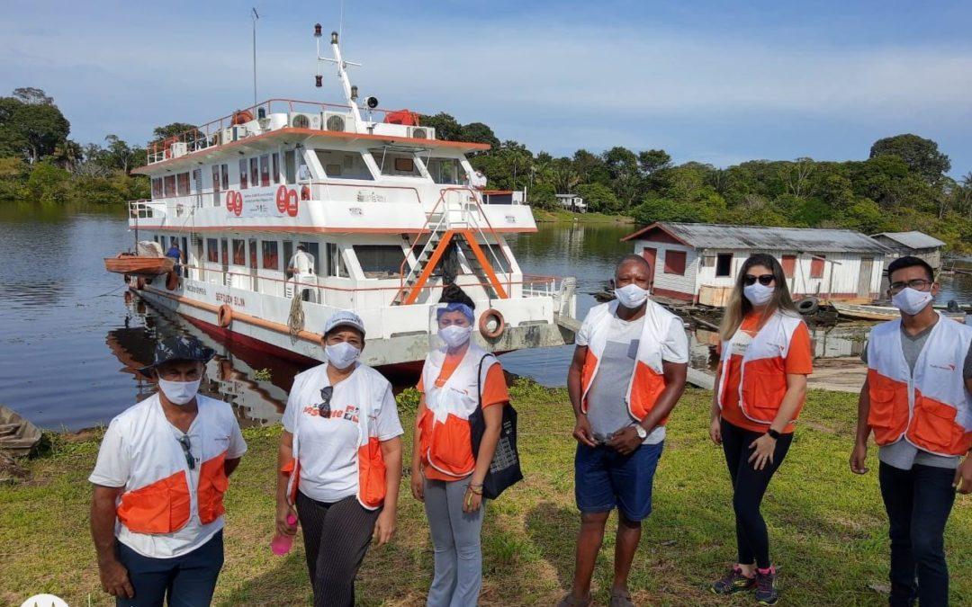 En un Barco Hospital World Vision provee servicios de salud a comunidades del Amazonas