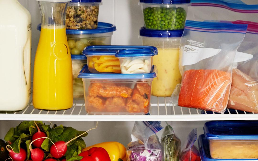 ¿Cómo almacenar alimentos adecuadamente?