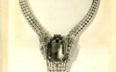 Tiffany reedita un collar histórico con un diamante nuevo de 80 quilates