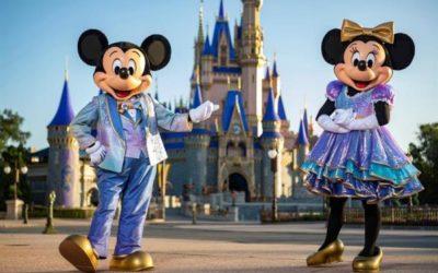 """Disney World cumple 50 años con la celebración """"más mágica del mundo"""""""
