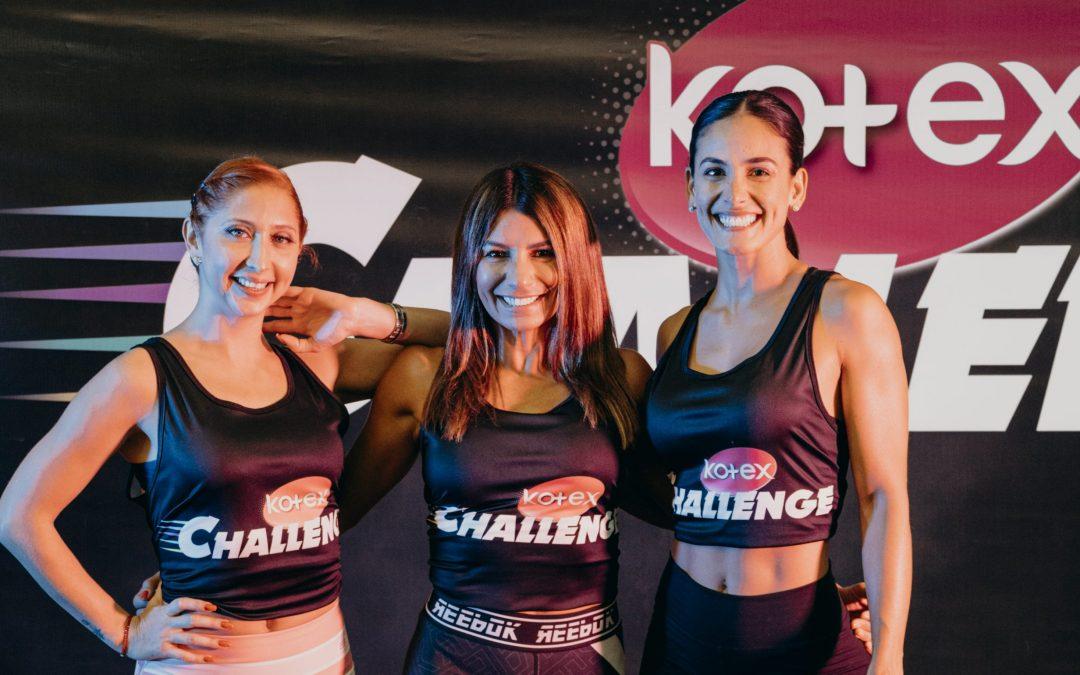Kotex Challenge ofrecerá un mes de clases virtuales con profesionales internacionales