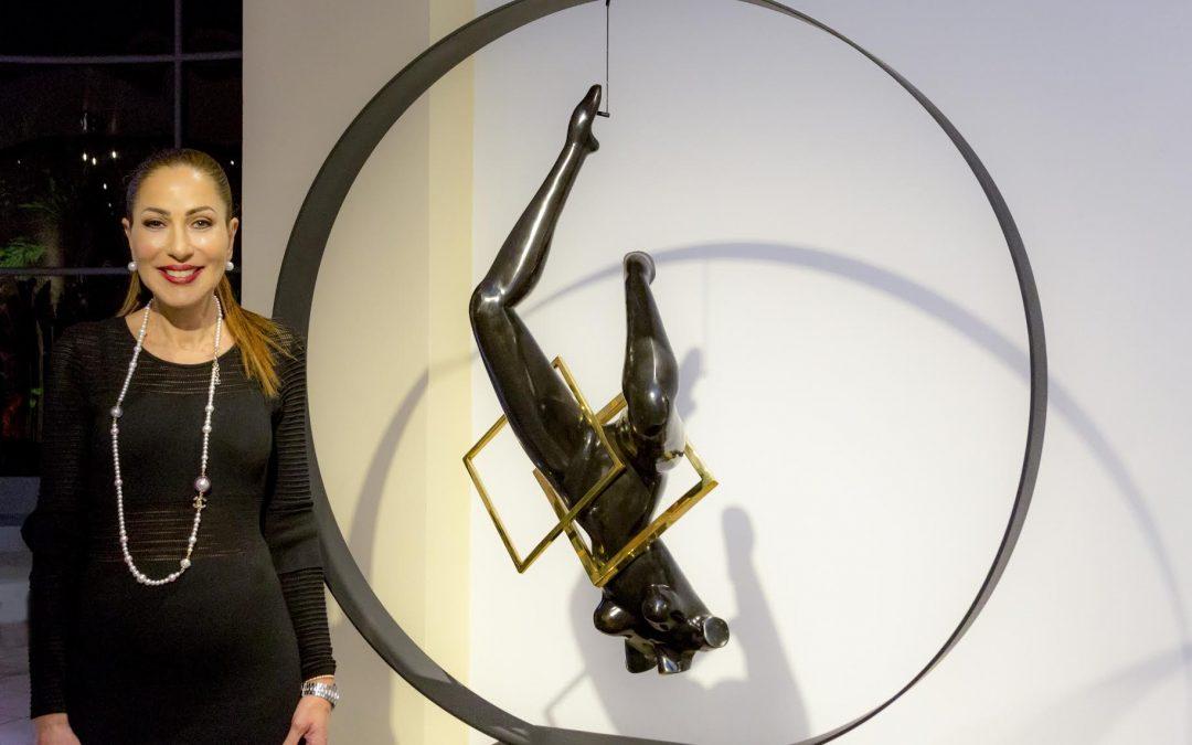Sandra Rubinstein, una artista que construye un legado cultural desde Costa Rica al mundo entero