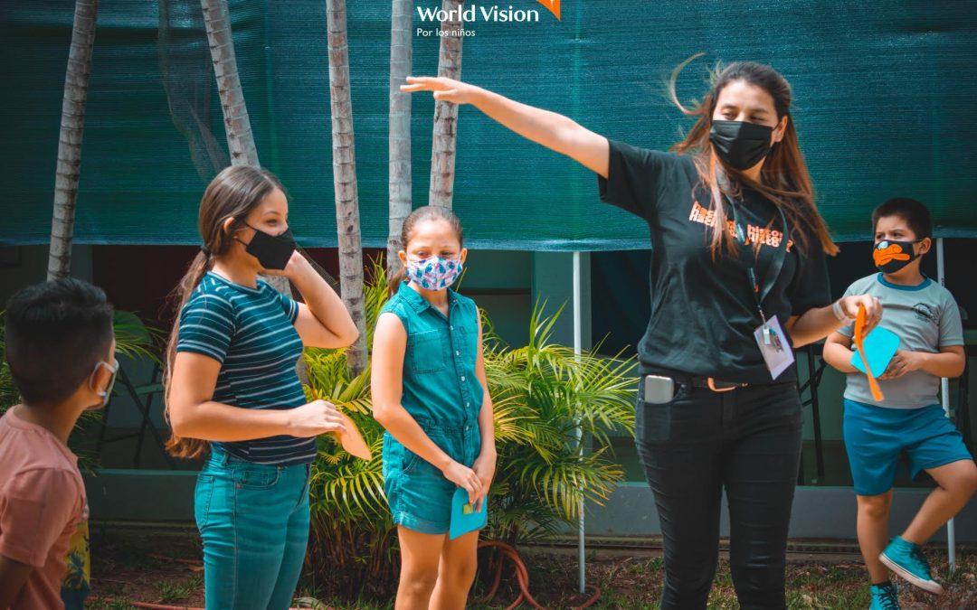 World Vision hace de la educación eje de cambio social