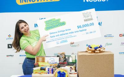 Joven costarricense gana en concurso regional Innovatón impulsado por Nestlé