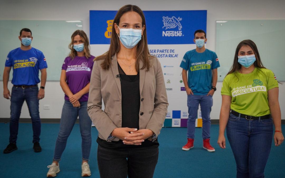 Cuatro jóvenes representarán a Costa Rica en la final regional de Innovatón 2021