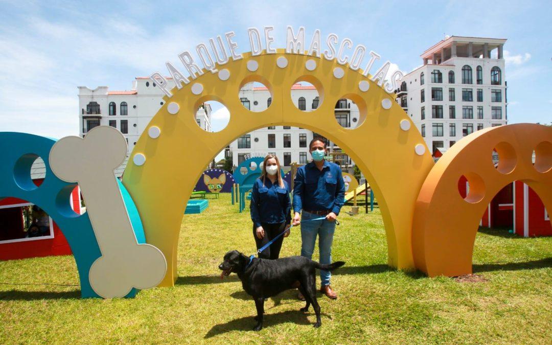 Ciudad Cayalá inaugura Pet Park, un único y divertido parque para mascotas