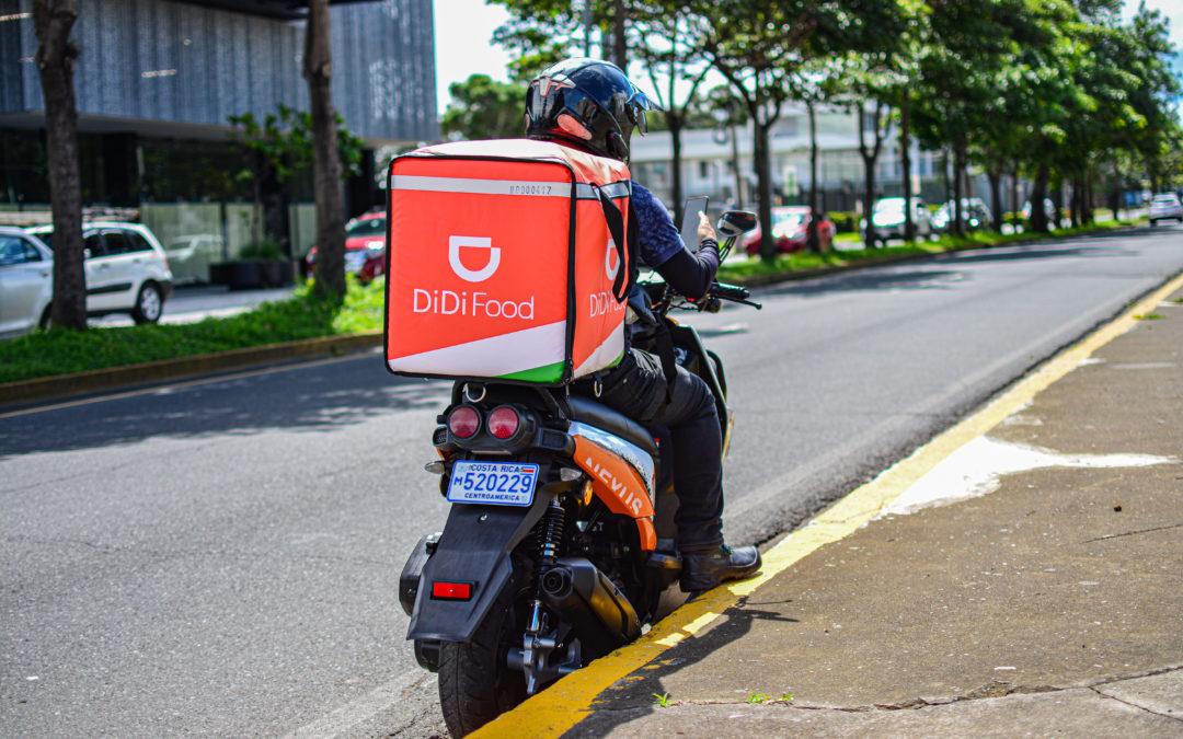 DiDi Food llega a Costa Rica con promociones todos los días