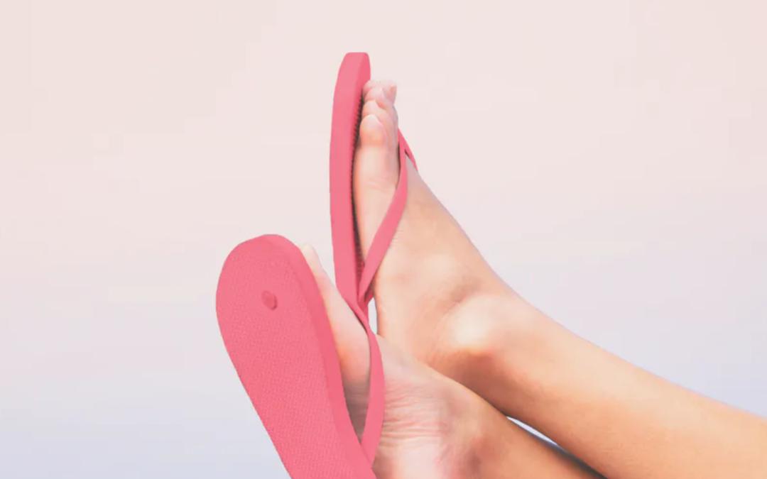¿Cómo cuidar sus pies en verano?