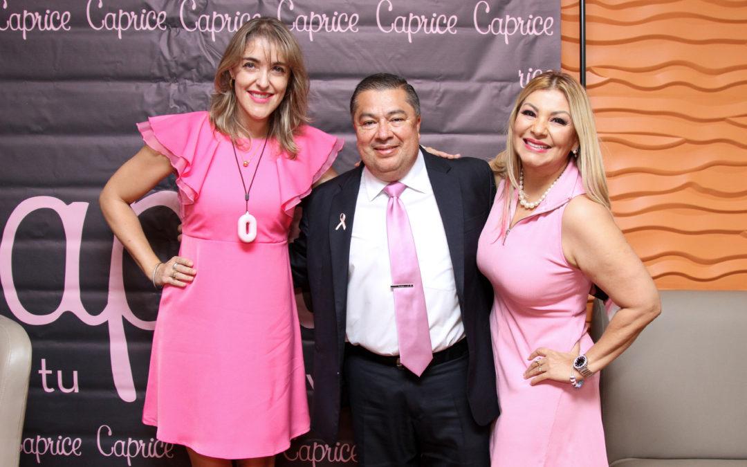 """Programa """"Empodérate con Caprice"""" destaca la importancia de llevar un buen brasier"""